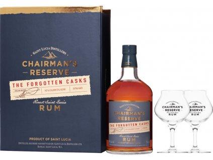 Chairman's Reserve Forgotten Casks + 2 poháre