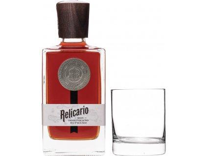 Relicario Ron Dominicano Supremo + 1 pohár