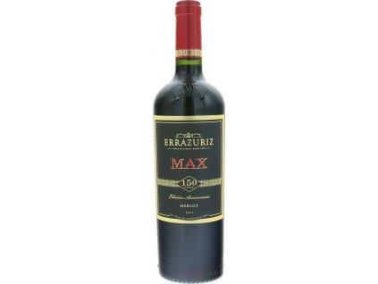 Errazuriz Max Reserva Merlot, Aconcagua Valley, r2017, víno, červené, suché 0,75L