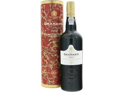 Graham's L.B.V. Port, Porto e Douro, r2015, fortifikované víno, červené, sladké, v tube 0,75L