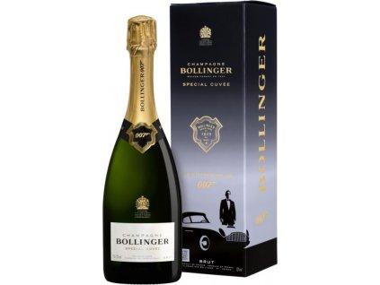 Champagne Bollinger Special Cuvée 007 Brut, AOC, Champagne, šampanské, biele, brut, darčekové balenie 0,75L