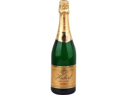 Hubert De Luxe, Doux, Slovensko, šumivé víno, sekt, biele, sladké 0,75L