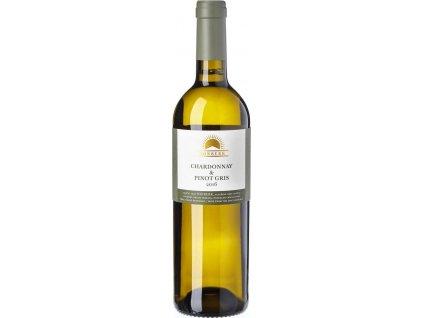 Sonberk Chardonnay & Pinot Gris, Mikulovská podoblast, r2016, víno s prívlastkom-neskorý zber, biele, suché 0,75L