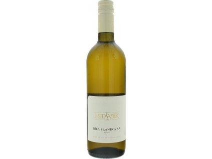 J. STÁVEK Bílá Frankovka, Velkopavlovická oblast, r2019, víno s prívlastkom-kabinet, biele, suché, Screw cap 0,75L