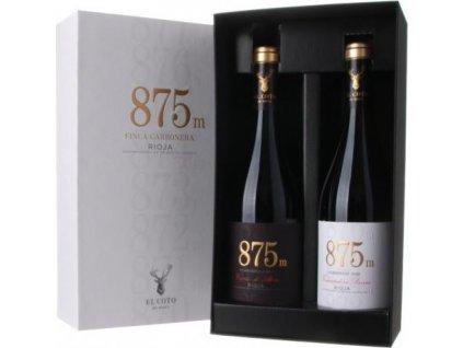 El Coto Finca Carbonera 875 m 2 x 0,75L, DOCa, Rioja DOCa, víno, suché, darčekové balenie 1,5L