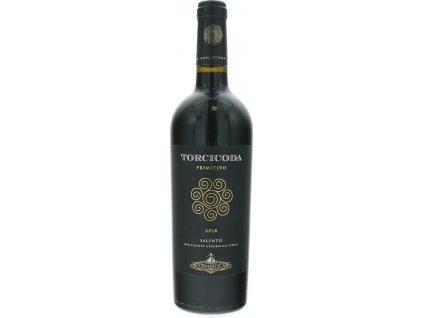 Tormaresca Torcicoda Primitivo Salento, IGT, Puglia, r2018, víno, červené, suché 0,75L