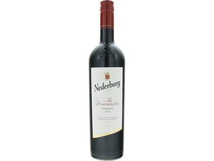Nederburg Winemasters Pinotage, Western Cape, r2018, víno, červené, suché, Screw cap 0,75L
