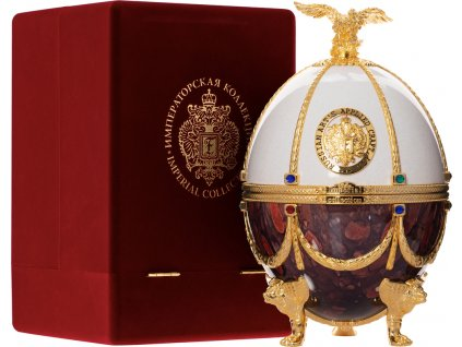 Carskaja Imperial Collection Faberge Perla a Rubínový Mramor