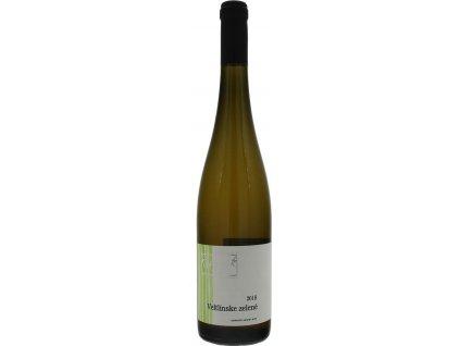 Kasnyik Veltlínske zelené, Strekov, Južnoslovenská oblasť, r2018, akostné víno, biele, suché, autentické 0,75L
