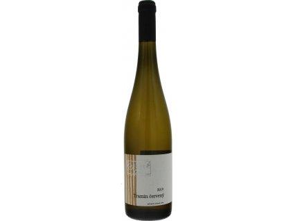 Kasnyik Tramín červený, Strekov, Južnoslovenská oblasť, r2019, akostné víno, biele, suché, autentické 0,75L