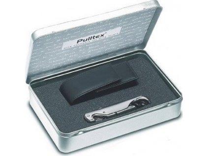 Pulltex Pullparrot Classic set Chrome, otvárak + kožené púzdro