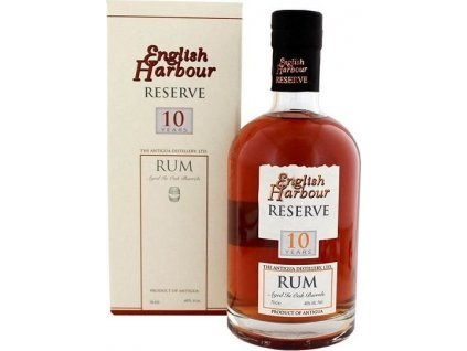 English Harbour Reserve 10YO 40%, rum, darčekové balenie 0,7L