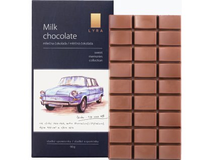 Lyra Milk chocolate Škoda 1000 MB