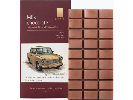 Lyra Milk chocolate Škoda Trabant