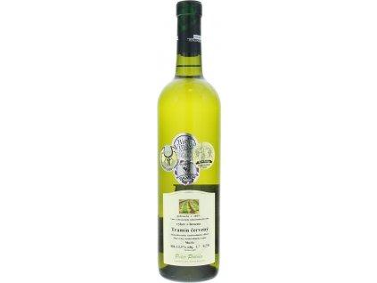 Peter Podola Tramín červený, Južnoslovenská oblasť, r2019, víno s prívlastkom-výber z hrozna, biele, polosuché 0,75L