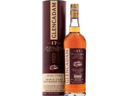 Glencadam 17 ročná Old Triple Cask Portwood Finish