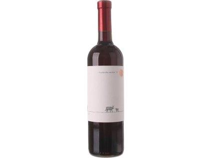 Chateau Rúbaň Frankovka modrá, Južnoslovenská oblasť, r2017, víno s prívlastkom-neskorý zber, červené, suché 0,75L