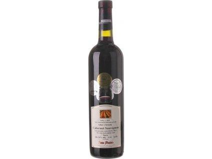 Peter Podola Cabernet Sauvignon, Južnoslovenská oblasť, r2018, víno s prívlastkom-výber z hrozna, červené, suché 0,75L