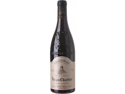 Arnoux & Fils Vieux Clocher, Gigondas, AOC, VAL DU RHÔNE, r2018, víno, červené, suché 0,75L