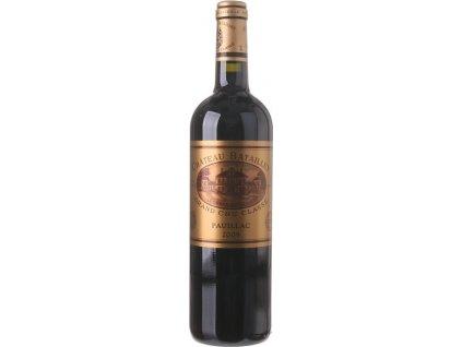 Bordeaux Château Batailley, AOC, Grand Cru Classé, PAUILLAC AOC, r2009, víno, červené, suché 0,75L