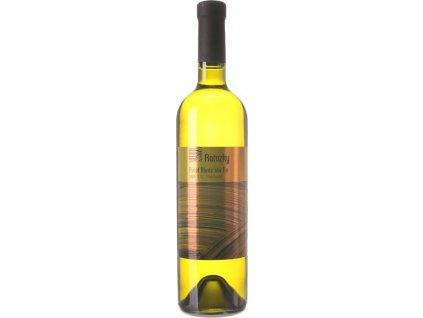 Vinárstvo Ratuzky Pinot Blanc Sur lie, Malokarpatská oblasť, r2018, akostné víno, biele, suché 0,75L