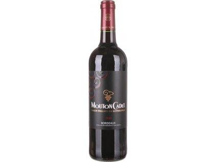 Rothschild Mouton Cadet Rouge, AOC, BORDEAUX AOC, r2018, víno, červené, suché 0,75L