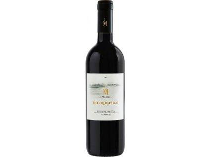 Le Mortelle Botrosecco Maremma Toscana, IGT, Tuscany, r2017, víno, červené, suché 0,75L