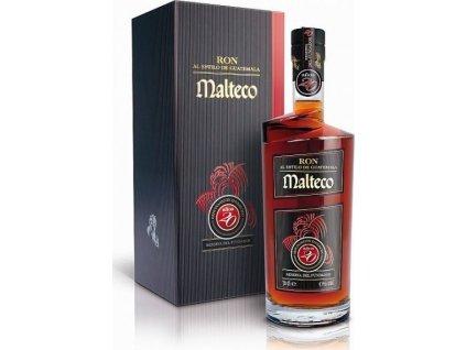 Malteco Reserva Del Fundador 20YO  41 %, rum, darčekové balenie 0,7L