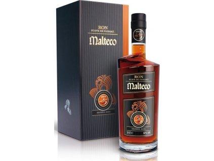 Malteco Reserva Rara 25YO 40 %, rum, darčekové balenie 0,7L