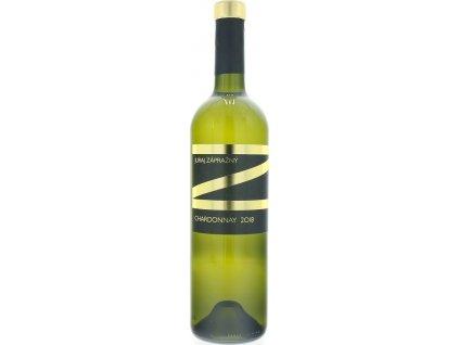 Juraj Zápražný Chardonnay, Južnoslovenská oblasť, r2018, víno, biele, suché 0,75L