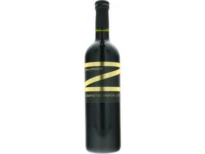 Juraj Zápražný Cabernet Sauvignon, Južnoslovenská oblasť, r2017, akostné víno, červené, suché 0,75L