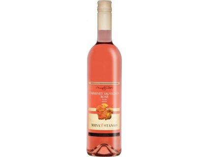 Mrva & Stanko Cabernet Sauvignon rosé, Jasová, Južnoslovenská oblasť, r2020, akostné víno, ružové, suché, Screw cap 0,75L