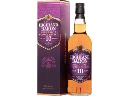 Highland Baron 10 ročná Single Malt Whisky