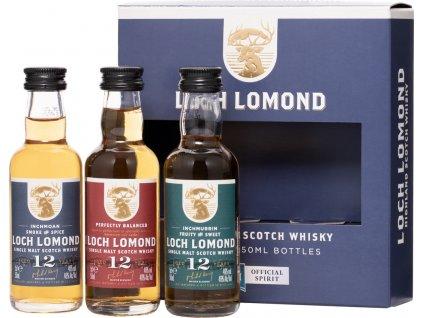 Loch Lomond Single Malt 3 x 0,05l