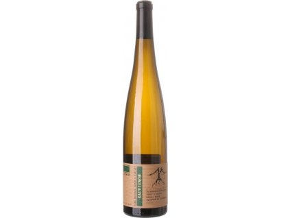 VÍNO NATURAL Domin & Kušický Sauvignon BIO, Stredoslovenská oblasť, r2017, víno s prívlastkom-výber z hrozna, biele, suché, BIO 0,75L