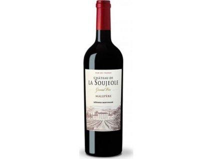 Gérard Bertrand Château de La Soujeole, Malepére, BIO, AOC, Languedoc-Roussillon, r2017, víno, červené, suché, BIO 0,75L
