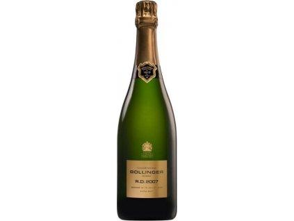 Champagne Bollinger R.D. Extra Brut, AOC, Champagne, r2007, šampanské, biele, extra brut 0,75L