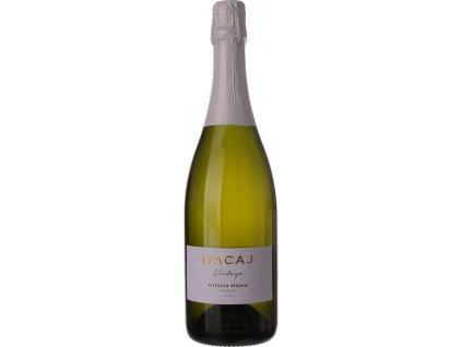 Hacaj Feteasca Regala Extra Dry, Malokarpatská oblasť, r2018, šumivé víno, sekt, tradičná metóda, biele, extra dry 0,75L
