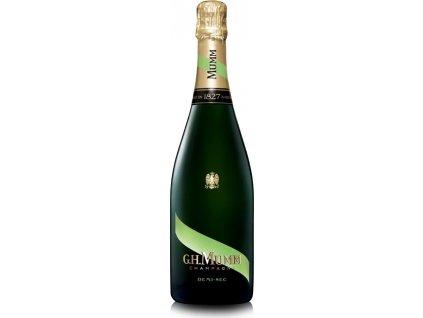 Mumm Le Demi - Sec, AOC, Champagne, šampanské, biele, demi sec 0,75L