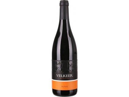 Velkeer Dunaj, Nitrianska oblasť, r2019, akostné víno, červené, suché 0,75L