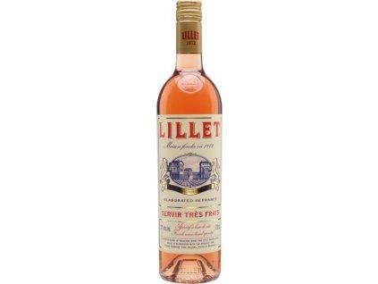 Lillet Rosé 17%, Francúzsko, fortifikované víno, ružové 0,75L
