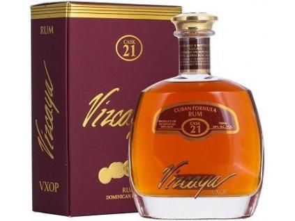 Vizcaya Rum Cask No. 21 VXOP 40%, rum, darčekové balenie 0,7L