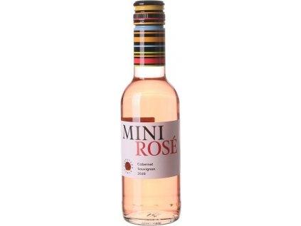 Karpatská Perla Jagnet Mini ROSÉ Cabernet Sauvignon, Malokarpatská oblasť, r2020, akostné víno, ružové, suché, Screw cap 0,25L