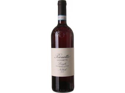 Prunotto Occhetti Nebbiolo Langhe, DOC, Piemont, iné, r2018, víno, červené, suché 0,75L