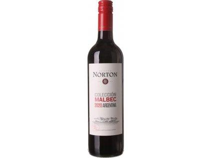 Norton Malbec Colección, Mendoza, r2020, víno, červené, suché, Screw cap 0,75L