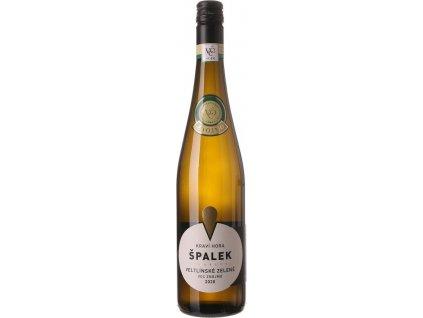 Špalek Veltlínske zelené V.O.C., BIO, Znojemská oblast, r2020, víno, biele, suché, BIO, Screw cap 0,75L