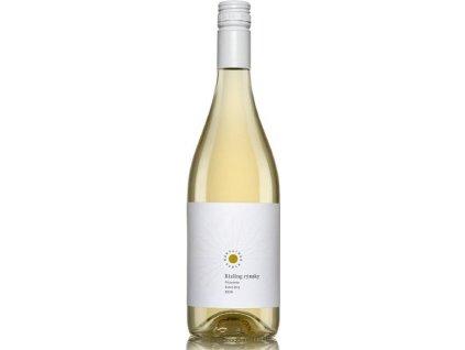 Karpatská Perla Rizling rýnsky Frizzante, Malokarpatská oblasť, r2020, perlivé víno-frizzante, biele, polosuché, Screw cap 0,75L