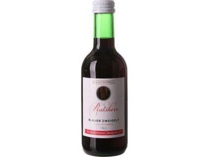 Winzer Krems Ratsherr Blauer Zweigelt, PDO, Niederösterreich, rNV, víno, červené, suché, Screw cap 0,25L