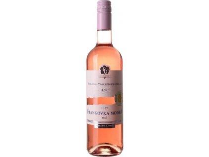 PD Mojmírovce Frankovka modrá Rosé, Nitrianska oblasť, r2019, akostné víno, ružové, polosuché, Screw cap 0,75L
