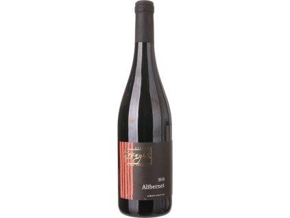 Kasnyik Alibernet, Južnoslovenská oblasť, r2018, akostné víno, červené, suché, autentické 0,75L